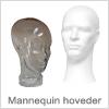Mannequin-hoved og Flamingo-hoved - Køb billigt online