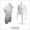 Herre mannequin / torso dele - Til ethvert formål