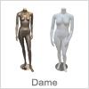 Køb dame mannequiner til lavpris med hurtig levering