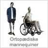 Gå til ortopædiske mannequiner - Køb ortopædisk mannequin