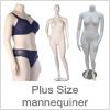 Plus Size Mannequiner Dame - Køb online til gode priser