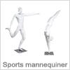 Sports mannequiner til fremvisning af sports produkter