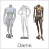 Smarte dame mannequiner uden hoved - Køb online