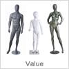 Flot design og god kvalitet på mannequiner