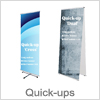 Quick up banner - Perfekt til messer og konferencer