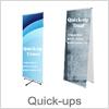 Quick up banner - Perfekt til messer og konferencer