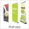 Roll up banner til billig pris og hurtig levering