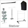 Stort udvalg af tøjstativer og stativer til mange typer produkter