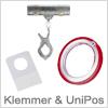 Klemmer og UniPos til mange formål