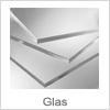 Flot glashylder i klar eller frosted kvalitet
