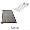 Slatwall metal hylder - Bestil hylder online