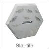 Slat-tile - Flot og unik vægbeslag til Slatwall