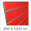 Slatwall b120xh240 til billig pris - Køb online