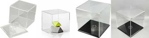 Udstillingsbox og bokse af akryl til billig pris - Køb online