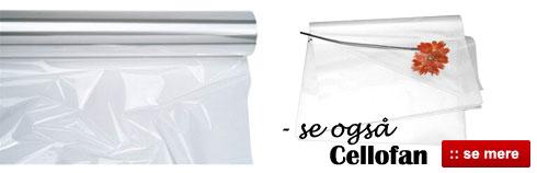 Online salg af billig cellofan af god kvalitet