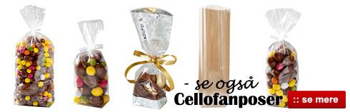 Cellofanposer til billig pris - Online salg