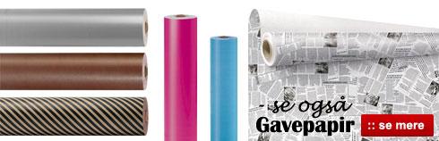 Online salg af gavepapir til ethvert formål