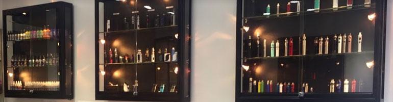Væghængt glasmontre og glasvitriner - Online salg