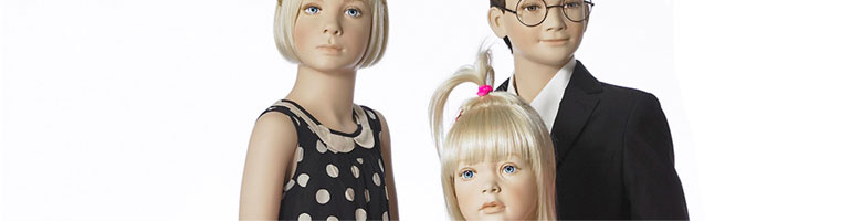 Børnemannequiner af allerhøjeste kvalitet og design