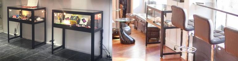 Eksklusive glasvitriner af høj kvalitet og flot design