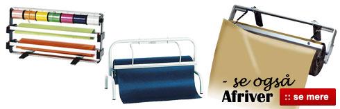 Papir-afriver og stativ til gavepapir - Køb online her