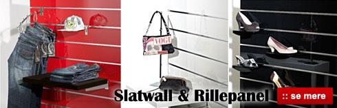 Køb flot og billig Slatwall og Rillepanel plader her