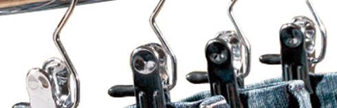 Metalbøjler - Stål bøjler - Renseribøjler - Klemmebøjler - Støvleklemmer