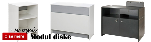 Se også vores modul diske