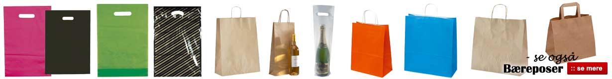 Køb bæreposer til billig pris online her