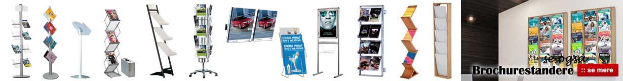 Brochureholder - Køb brochureholder billigt online