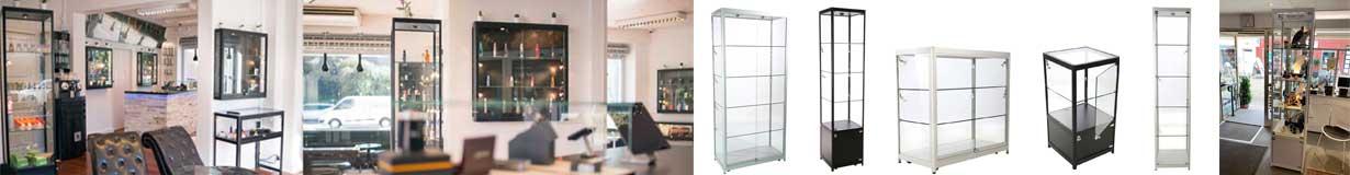 Glasvitriner og glasmontre af høj kvalitet - Køb online her