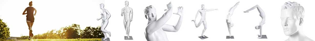 Køb sportsmannequiner her i flot design og høj kvalitet