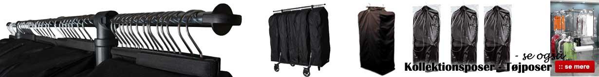 Køb tøjposer og kollektionsposer online her til billig pris