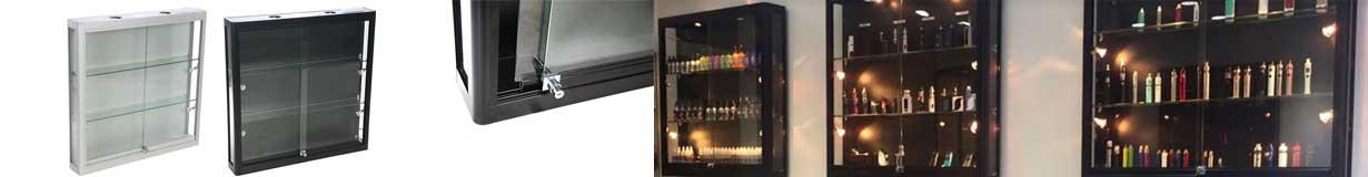 Væg vitriner af høj kvalitet til billig pris - køb her
